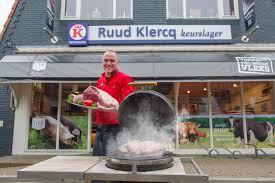 Voor de welverdiende 'bal gehakt' mochten we bij Keurslager Ruud Klercq aankloppen.
