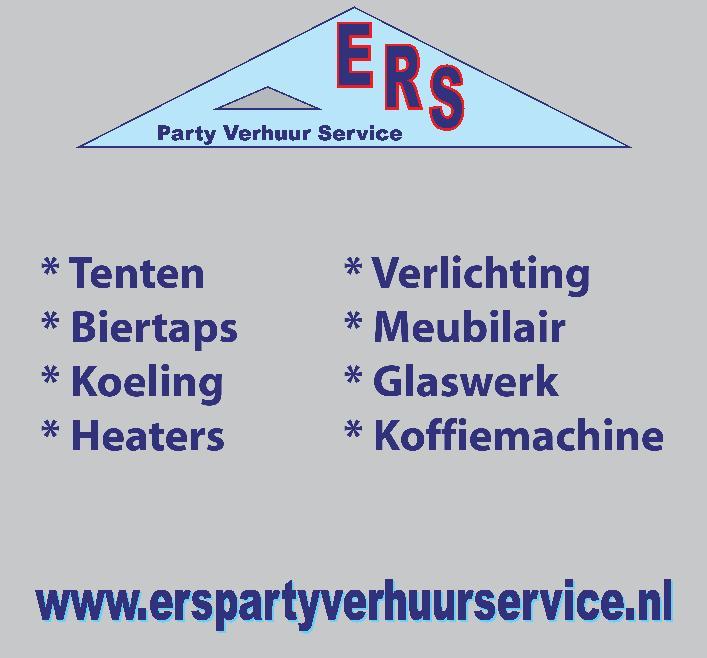 Voor de nodige wegwerpservies heeft ERS gezorgd!
